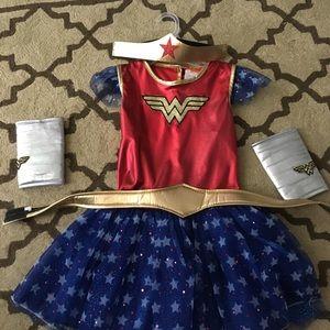 Wonder Woman girls tutu costume medium (7-8)